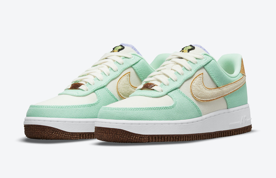 Nike Air Force 1 Low Happy Pineapple CZ0268-300 Release Date Info