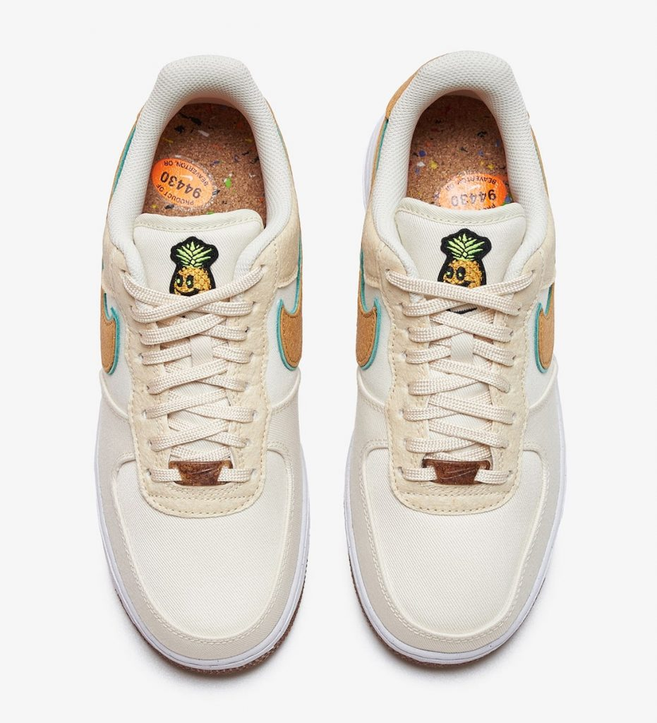 Nike Air Force 1 Low Happy Pineapple CZ1631-100 Release Date