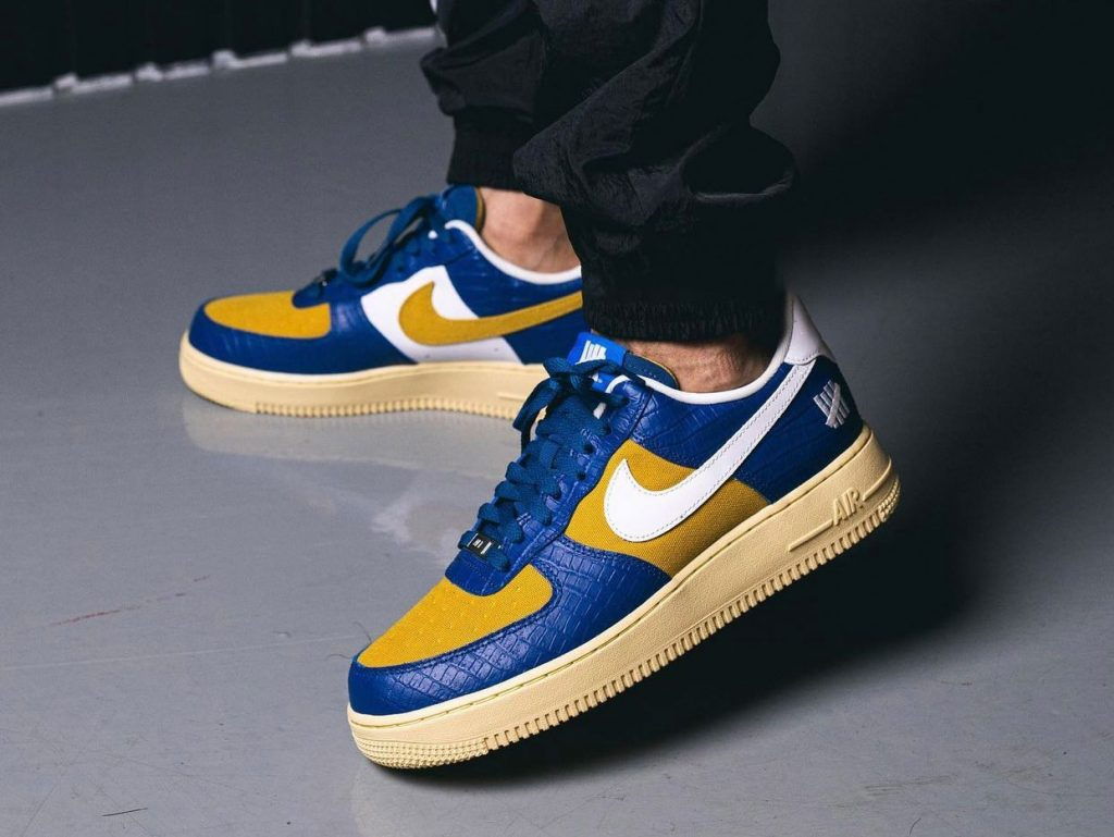 Undefeated Nike Air Force 1 Low Dunk vs AF-1 Release Date Info