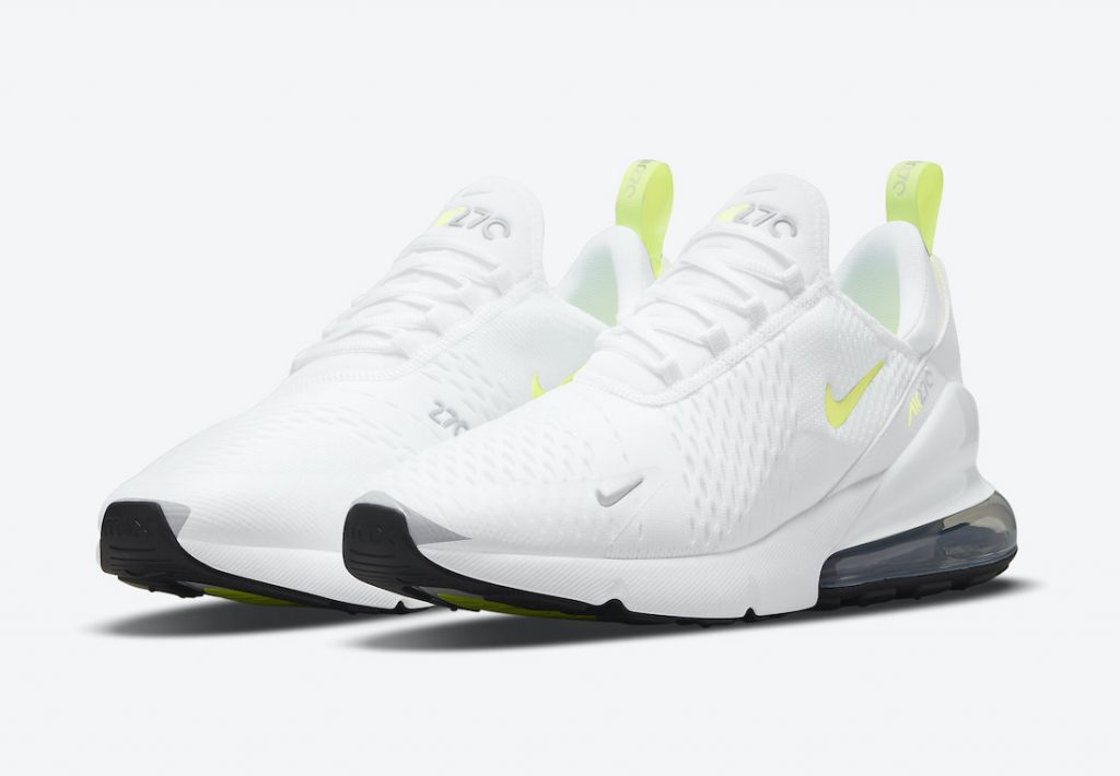 Nike Air Max 270 White Volt DN4922-100 Release Date Info