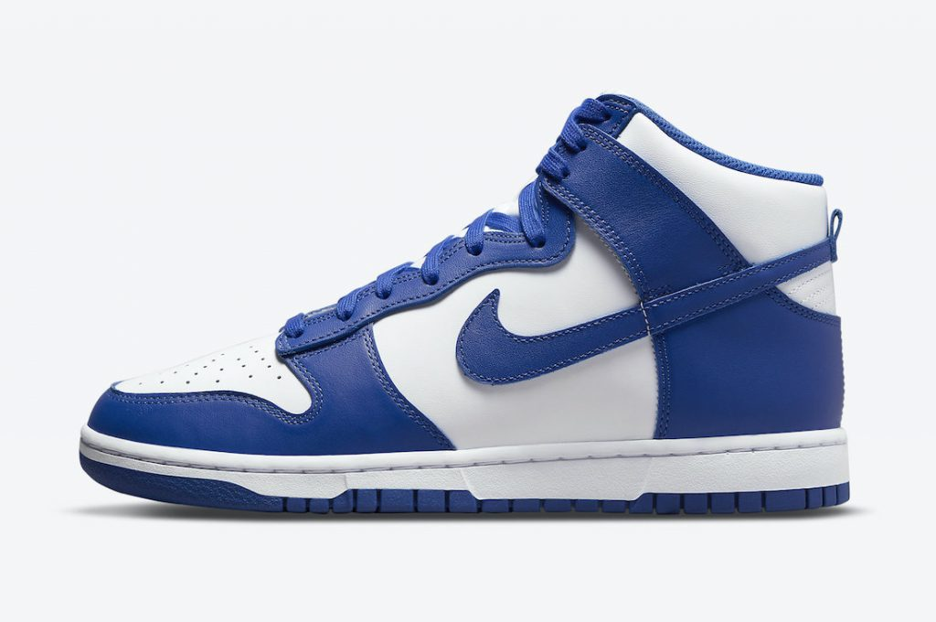 Nike Dunk High Game Royal DD1399-102 Release Date Info