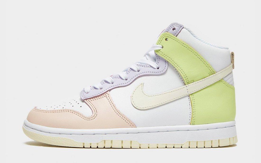 Nike Dunk High Lemon Twist DD1869-108 Release Date Info