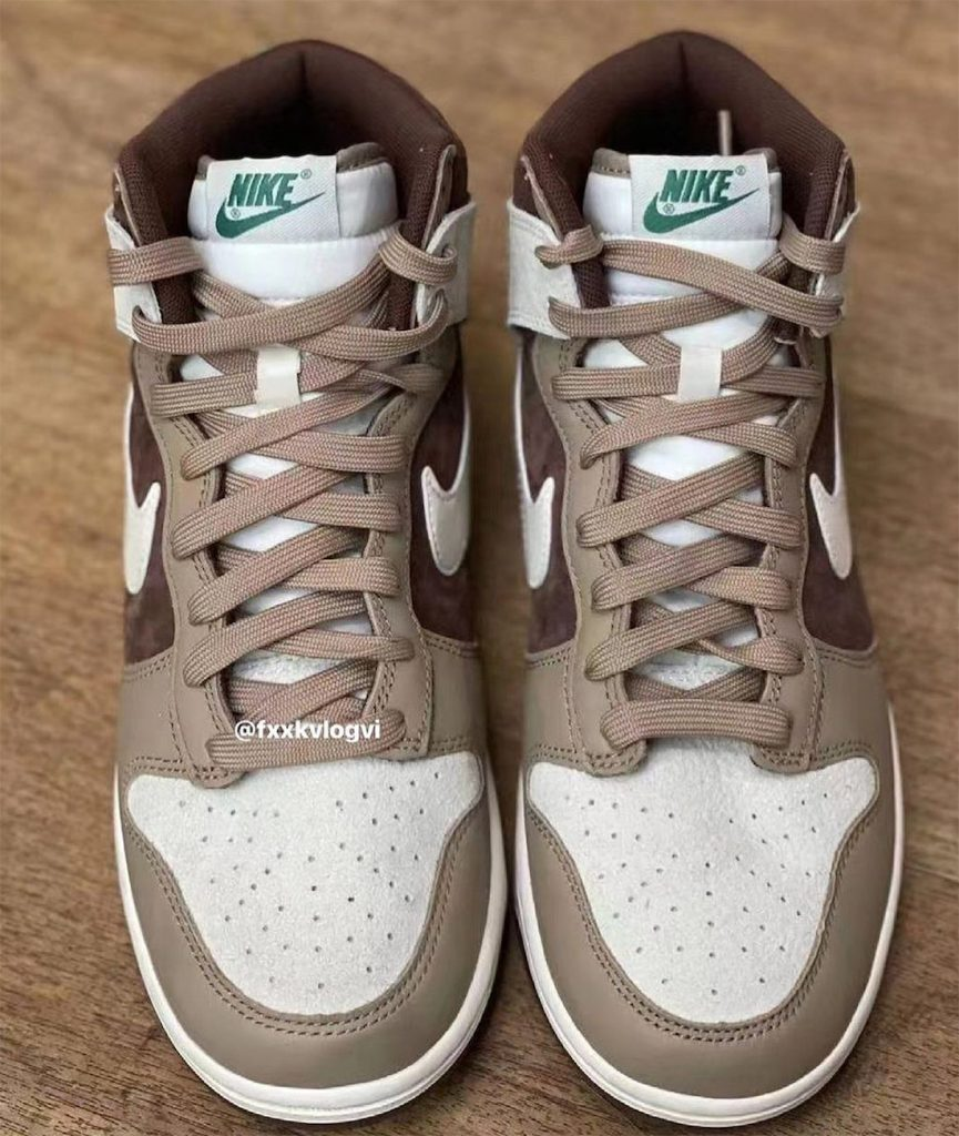Nike Dunk High Light Chocolate DH5348-100 Release Date Info