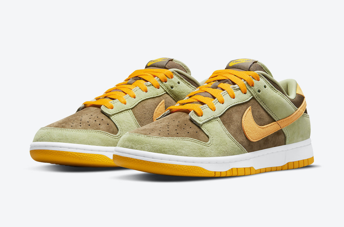 Nike Dunk Low Dusty Olive DH5360-300 Release Date Info