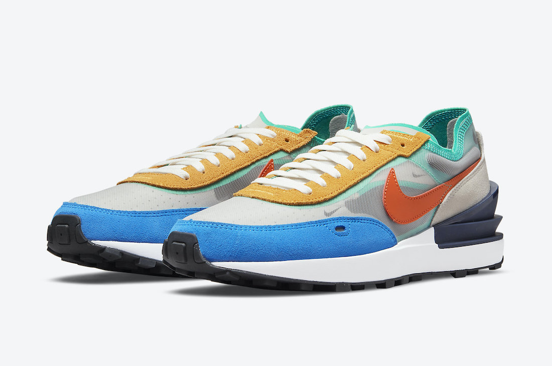 Nike Waffle One Multi Color DN9253-001 Release Date Info