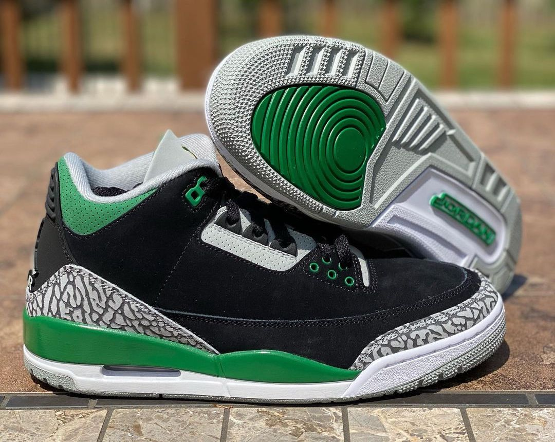 Air Jordan 3 Pine Green CT8532-030 Release Date Info