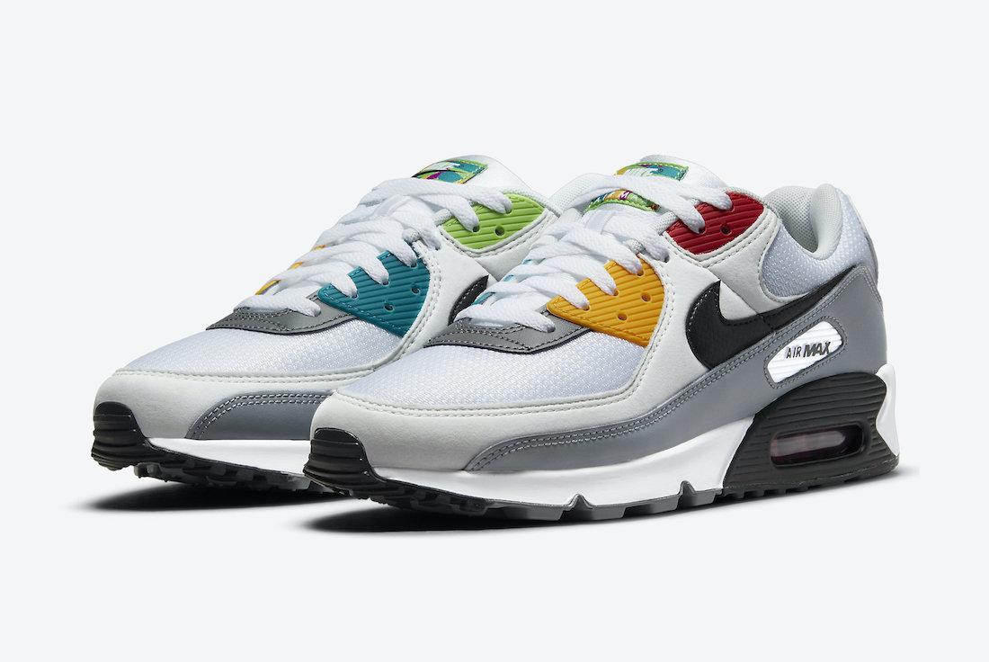 Nike Air Max 90 Peace Love Swoosh DM8151-100 Release Date Info