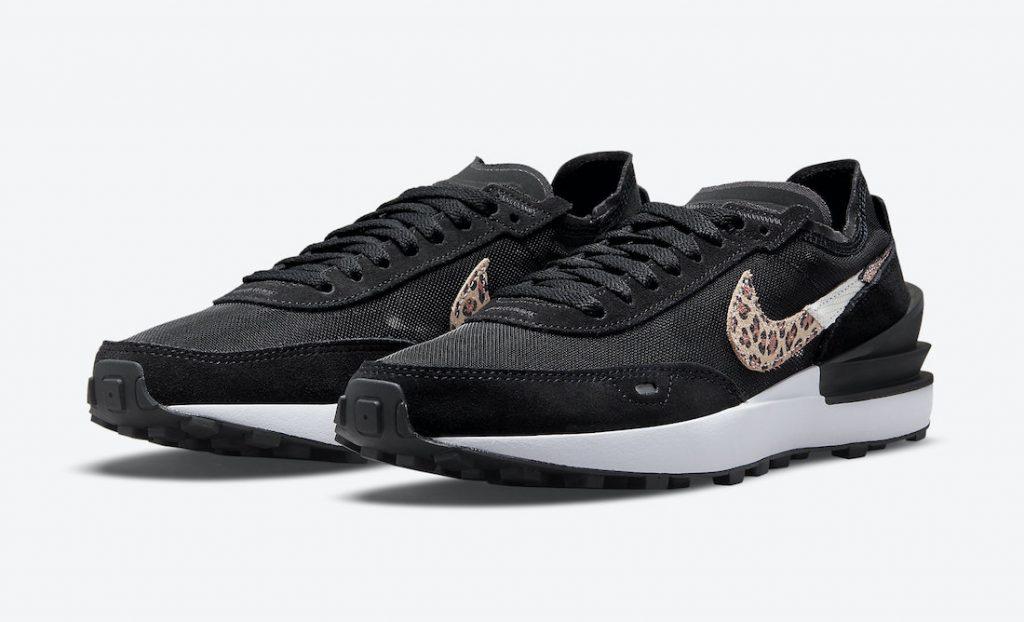 Nike Waffle One Leopard Pack DJ9776-001 Release Date Info