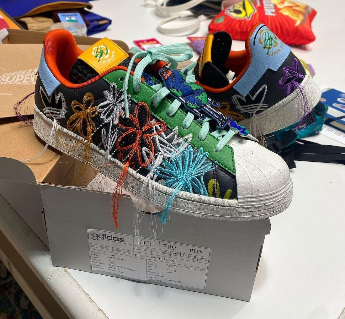 Sean Wotherspoon adidas SUPEREARTH Superstar GX3823 Release Date Info