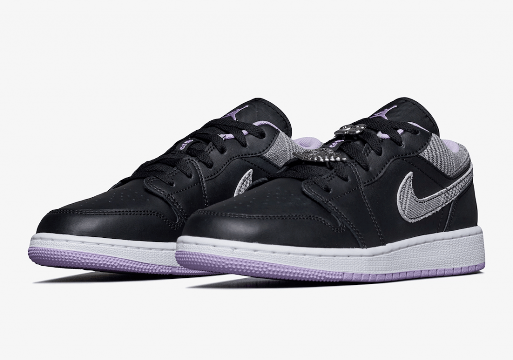 Air Jordan 1 Low SE GS Houndstooth DH0570-015 Release Date Info