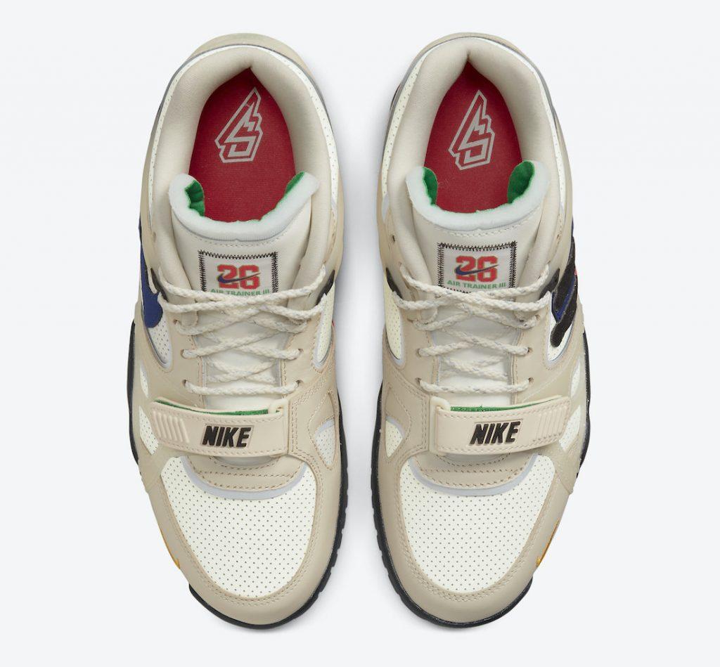 Saquon Barkley Nike Air Trainer 3 DA5403-200 Release Date Info