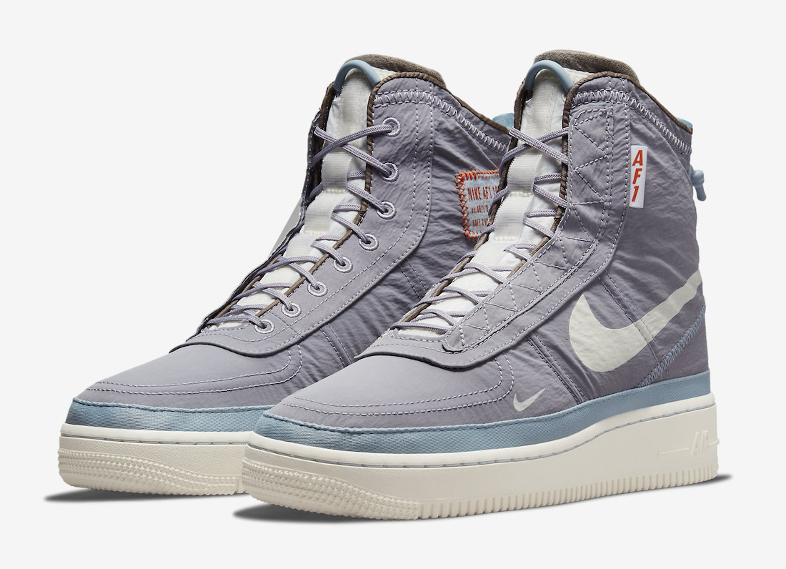 Nike Air Force 1 Shell Provence Purple DO7450-511 Release Date Info