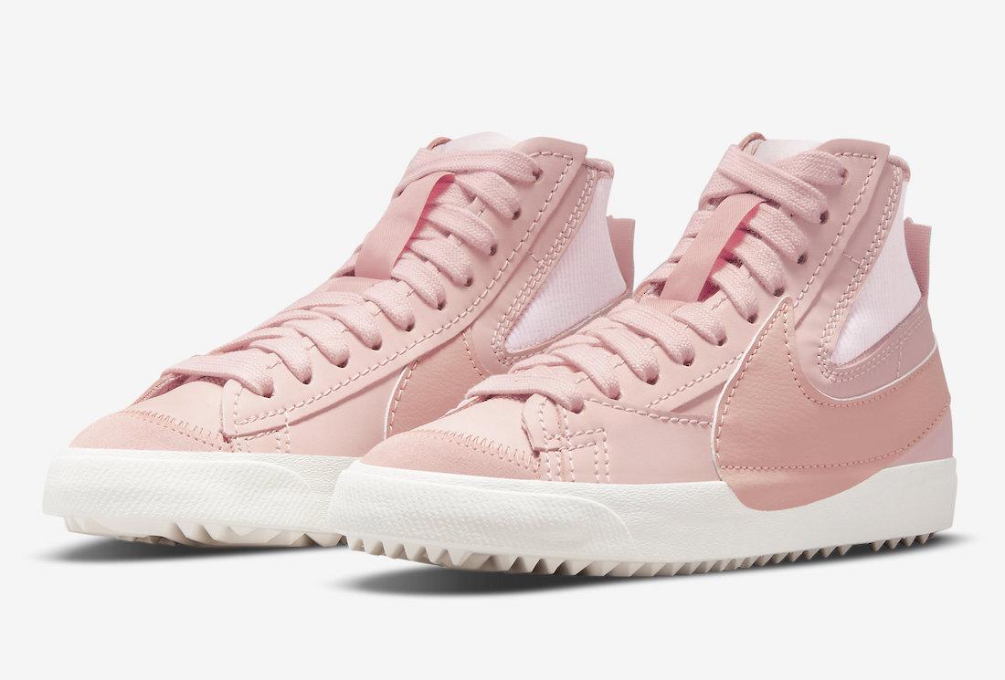 Nike Blazer Mid 77 Jumbo Pink Oxford DQ1471-600 Release Date Info