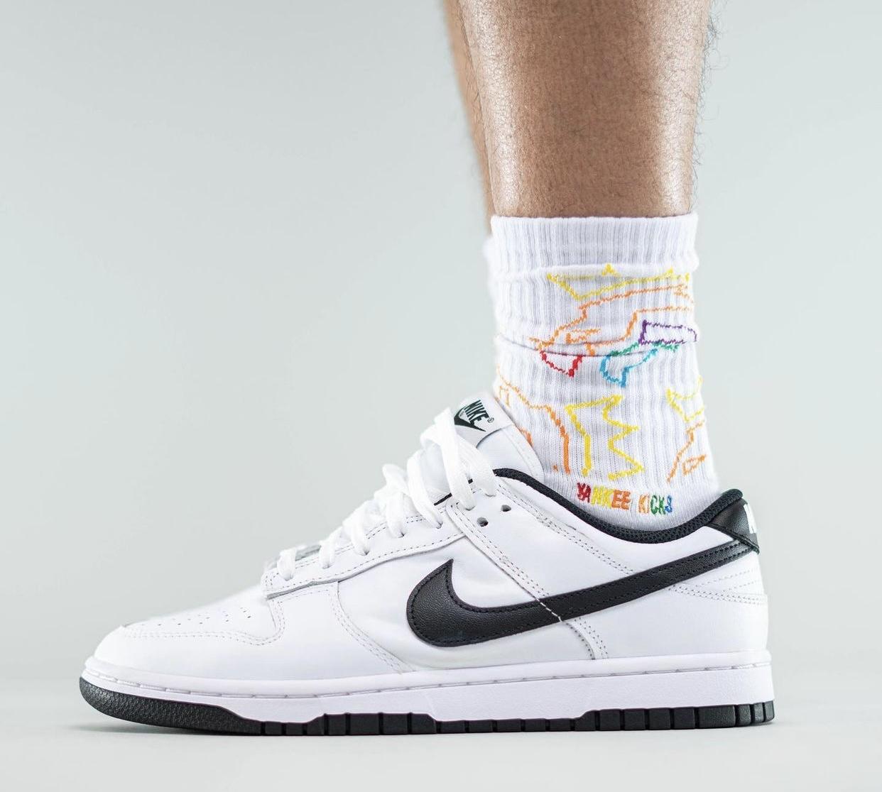 Nike Dunk Low White Black Release Date Info